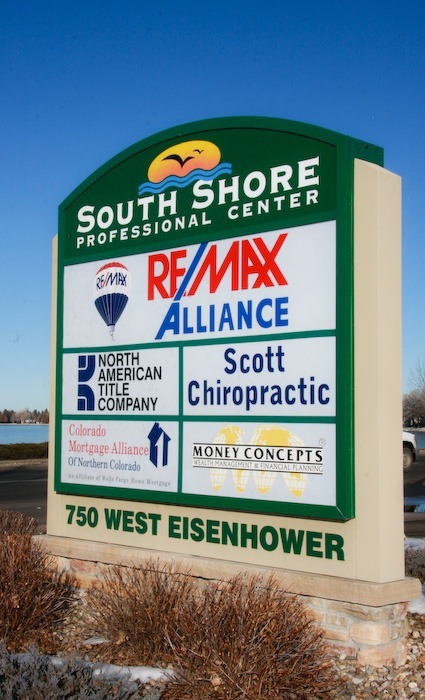 Scott Chiropractic Location Sign